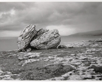 Stone, The Burren, County Antrim, Ireland.